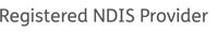 NDIS Registered Provider tagline